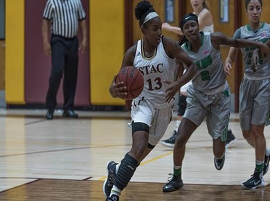 Adams Nets 20 as STAC Tops Nyack, 87-75 in Women's Basketball Opener