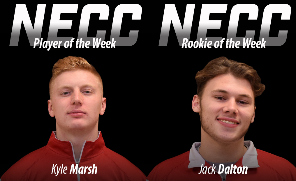 LAX Duo Sweeps NECC Weekly Honors