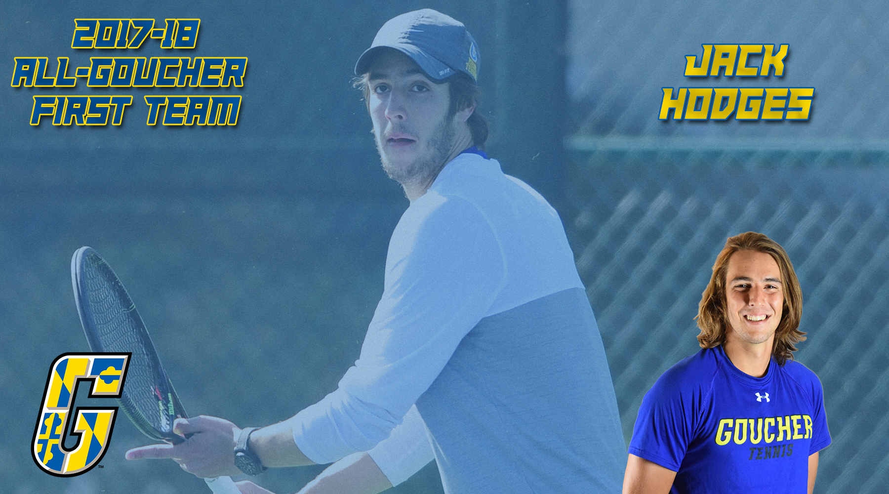 All-Goucher First Team Selection: Men's Tennis' Jack Hodges