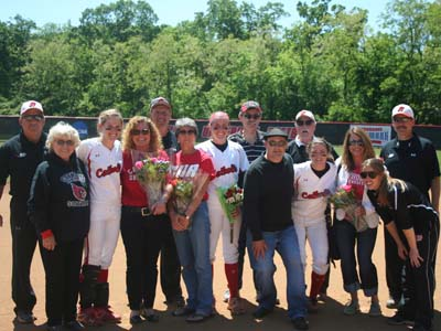 CUA sweeps Bobcats on Senior Day; Stockinger sets HR record