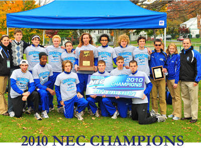 Sanderson Leads Blue Devils to Second Consecutive NEC Cross Country Title