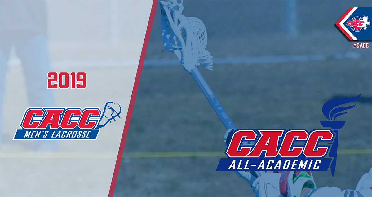 THREE CHARGERS NAMED TO 2019 CACC MEN'S LACROSSE ALL-ACADEMIC TEAM