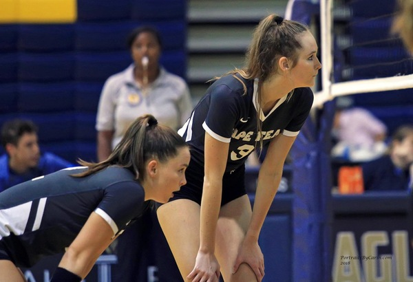 Volleyball Drops Road Matches