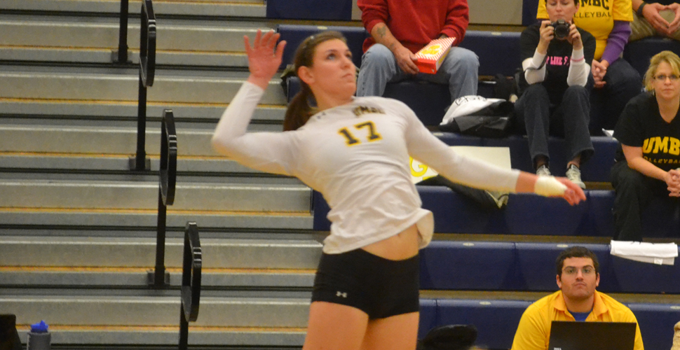 Schmidt's 16 Kills Power UMBC Past Albany, Into America East Championship Match