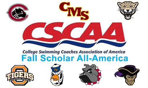 SCIAC Swim & Dive Represented on CSCAA Scholar All-America Teams