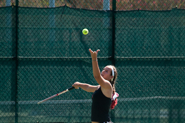 Huntingdon women's tennis improves to 8-0 in GSAC