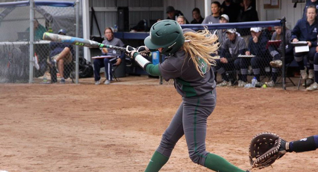 The Dragons posted a 9-4 win over Northwood but fell to Saginaw Valley State 9-1.