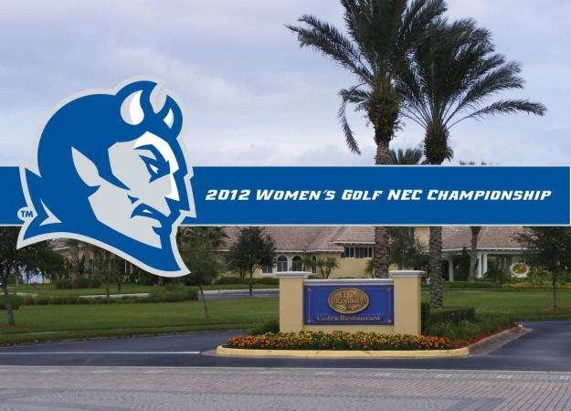 Women's Golf NEC Championship Preview