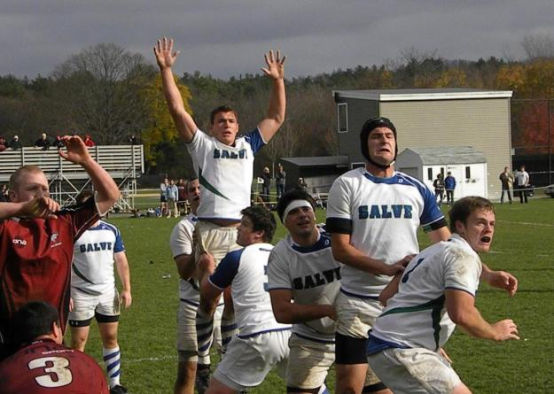 Salve Regina men's rugby competed with two full squads in the Rhody Cup hosted by University of Rhode Island on Saturday.
