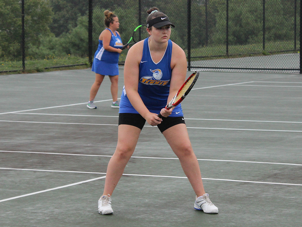Tennis Doubled Up by Plymouth State