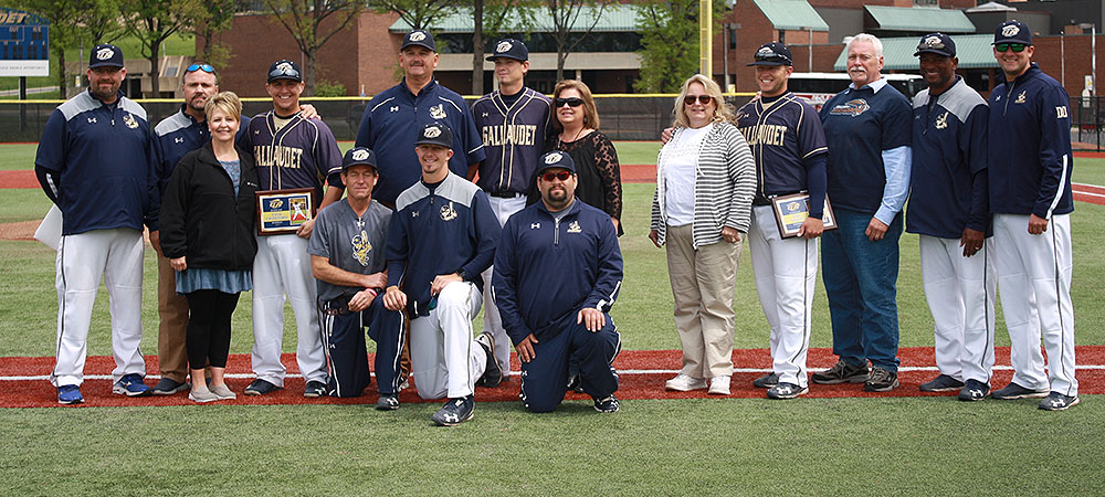 Seniors pitch Gallaudet to a sweep on Senior Day over SUNY Poly