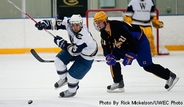 Men's Hockey Wins Second Straight Non-Conference Game