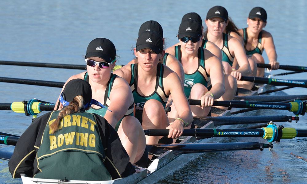 ROWING HOSTS POWERHOUSE FIELD AT THIS WEEKEND'S LAKE NATOMA INVITATIONAL