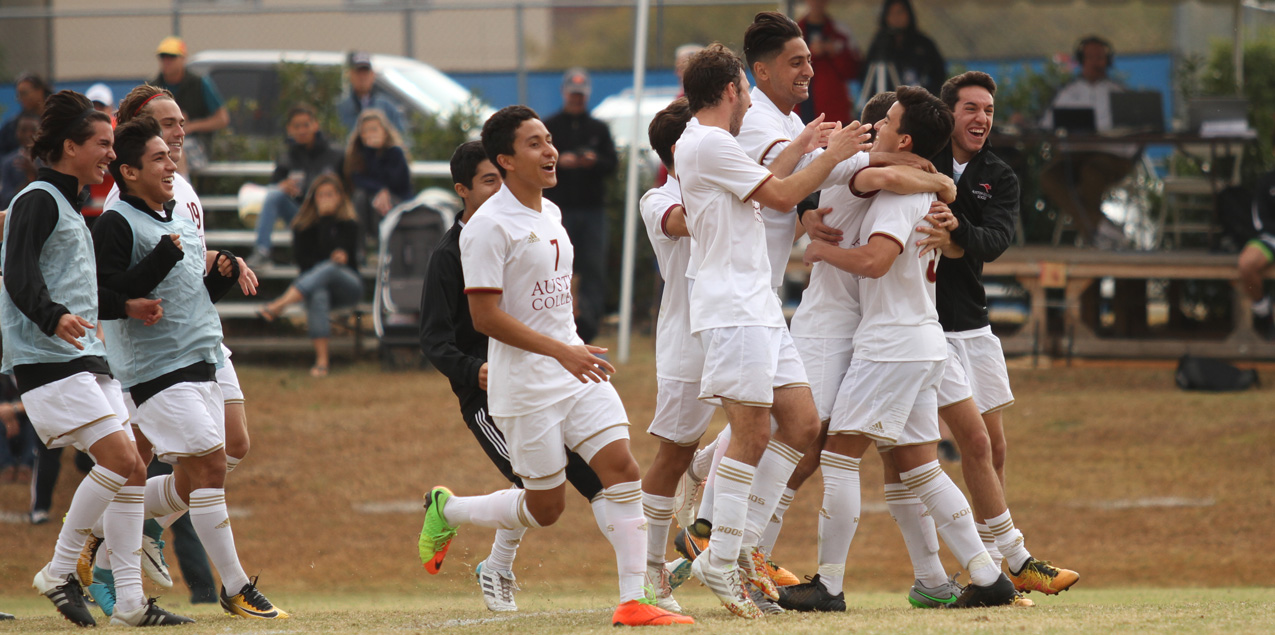Austin College Needs PKs to Advance to SCAC Semifinals