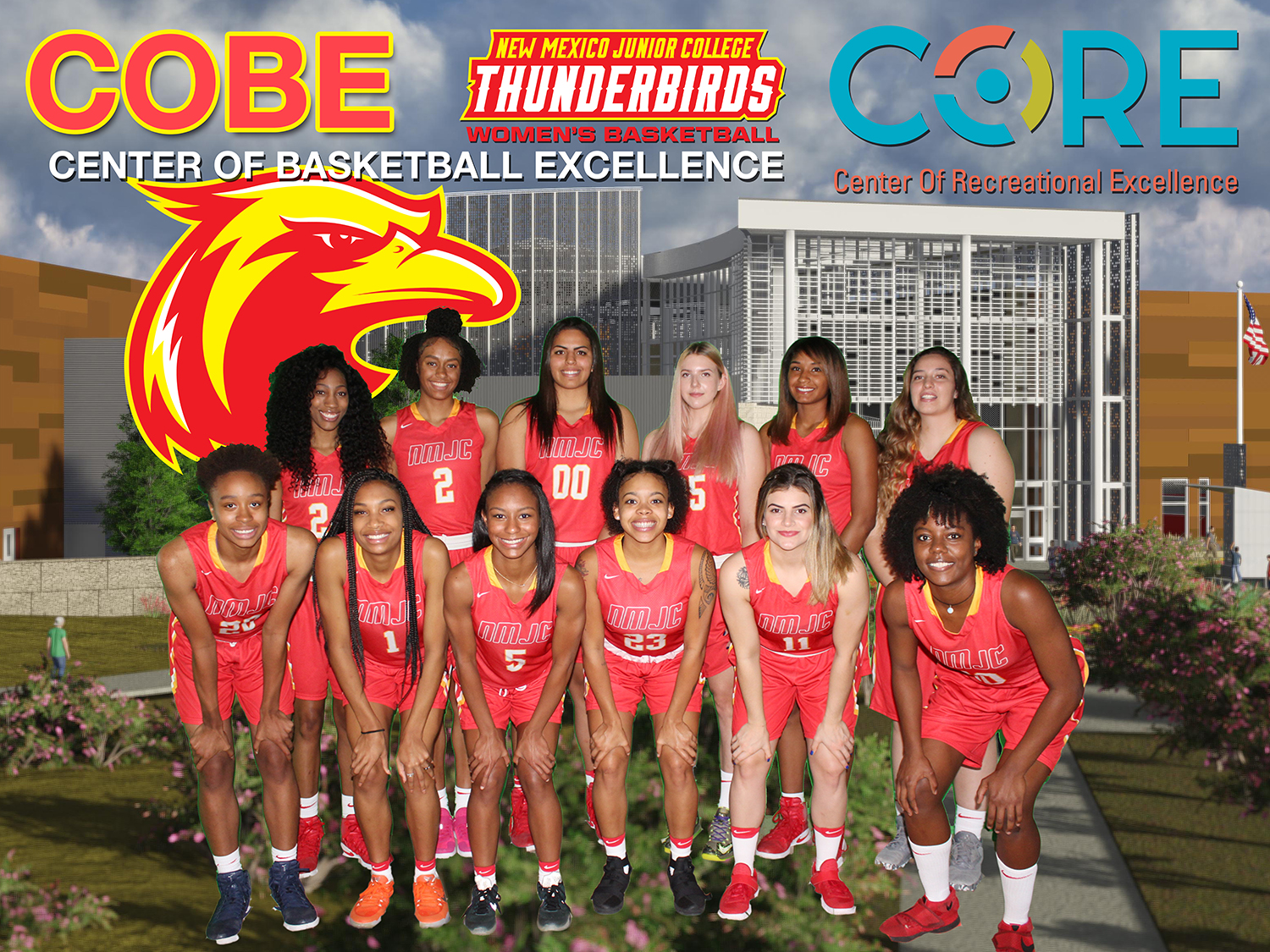 New NJCAA Ranking Places Lady T-Birds #3 in the Nation!