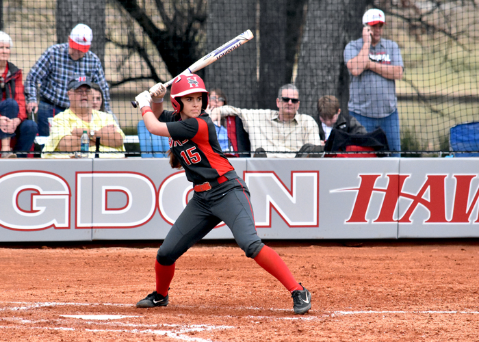 McKenzie Ridgway was 4-for-8 with an RBI, a run and two doubles in Sunday's sweep of Dallas and Mount St. Joseph.