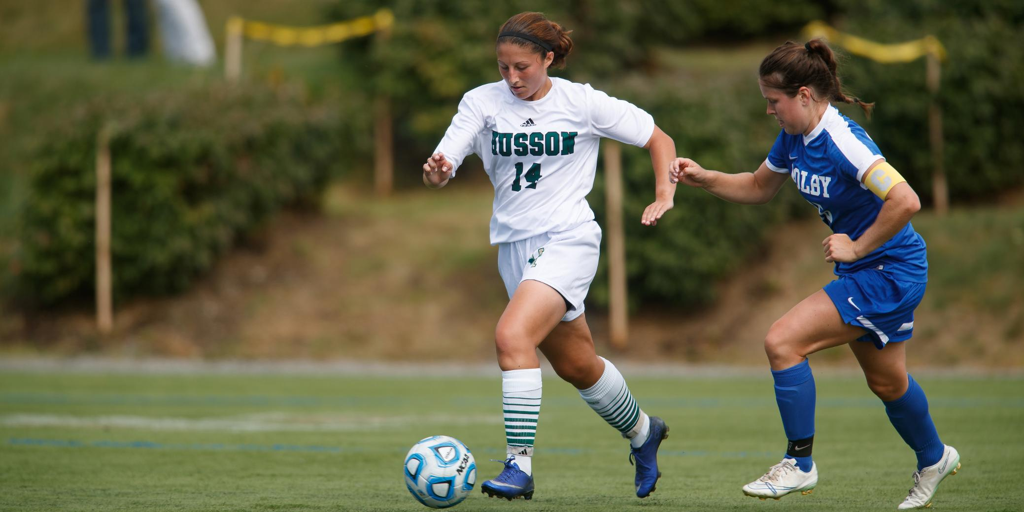 Women's Soccer Defeats Thomas, 2-1, in Conference Play