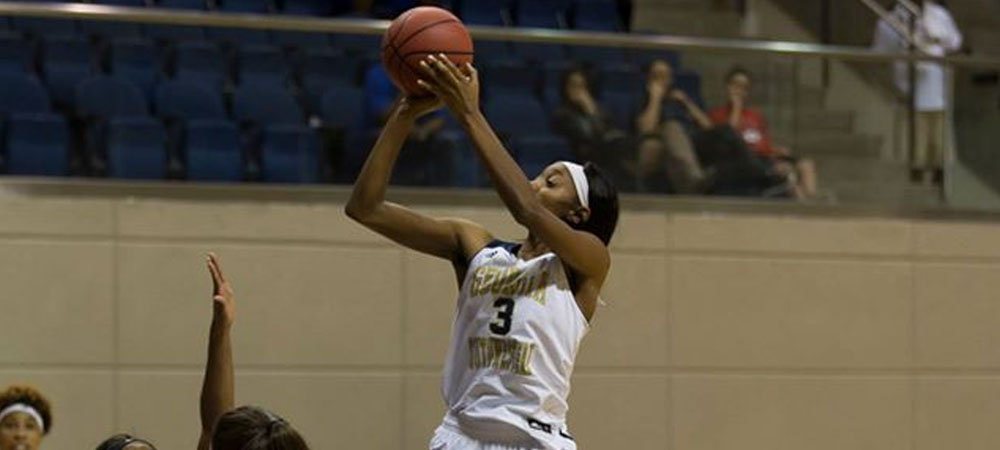 Hall Double-Doubles In Clayton State Loss