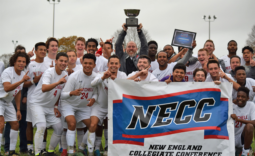 Men's Soccer Claims First-Ever NECC Title