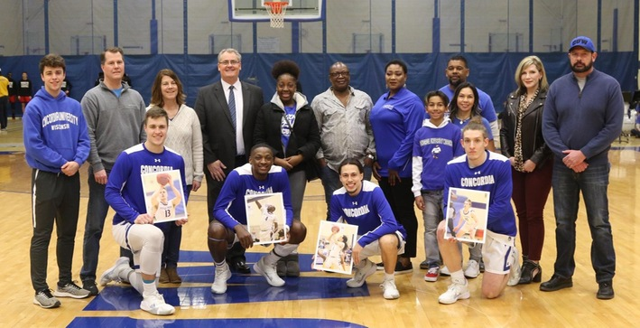 Falcons put exclamation point on Senior Day victory