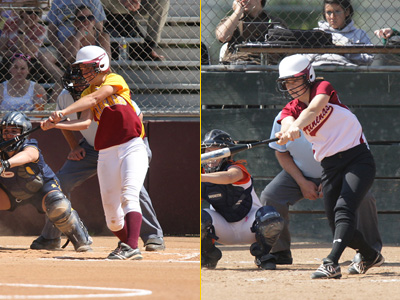 Athenas Split With Bulldogs With Power Pitching And Hitting