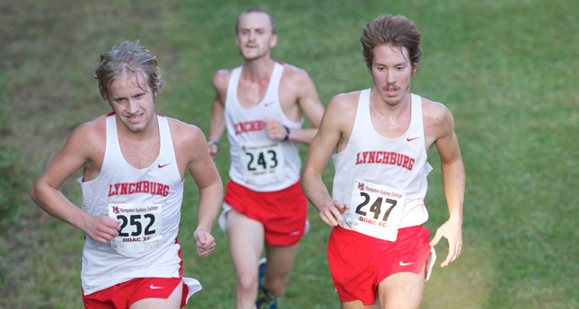 Lynchburg Men Finish Eighth in South/Southeast Regional Meet