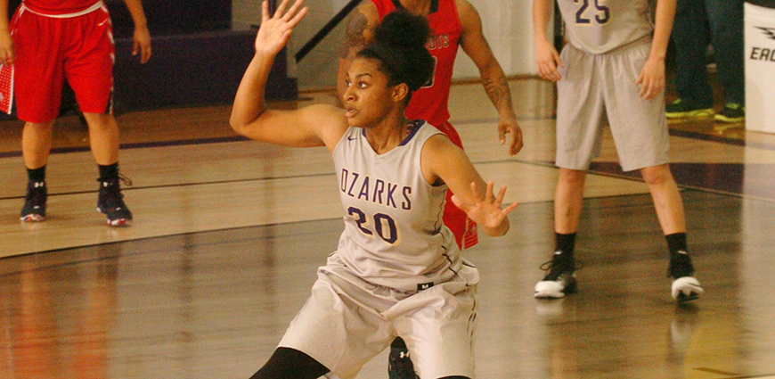 Ozarks Women Fall to Concordia College in Rocky Mountain Thanksgiving Classic