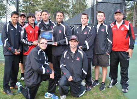Mitchell College, 2012 Men's Tennis Champions