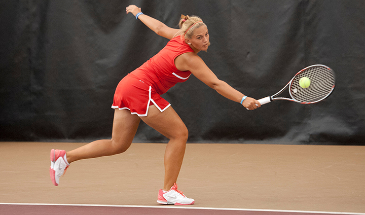 Women's Tennis Wraps Up Action With Singles Play At Wisconsin-Whitewater Tourney