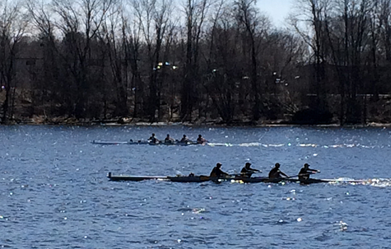 Strong Showing by Rowing at UMass Lowell Invitational