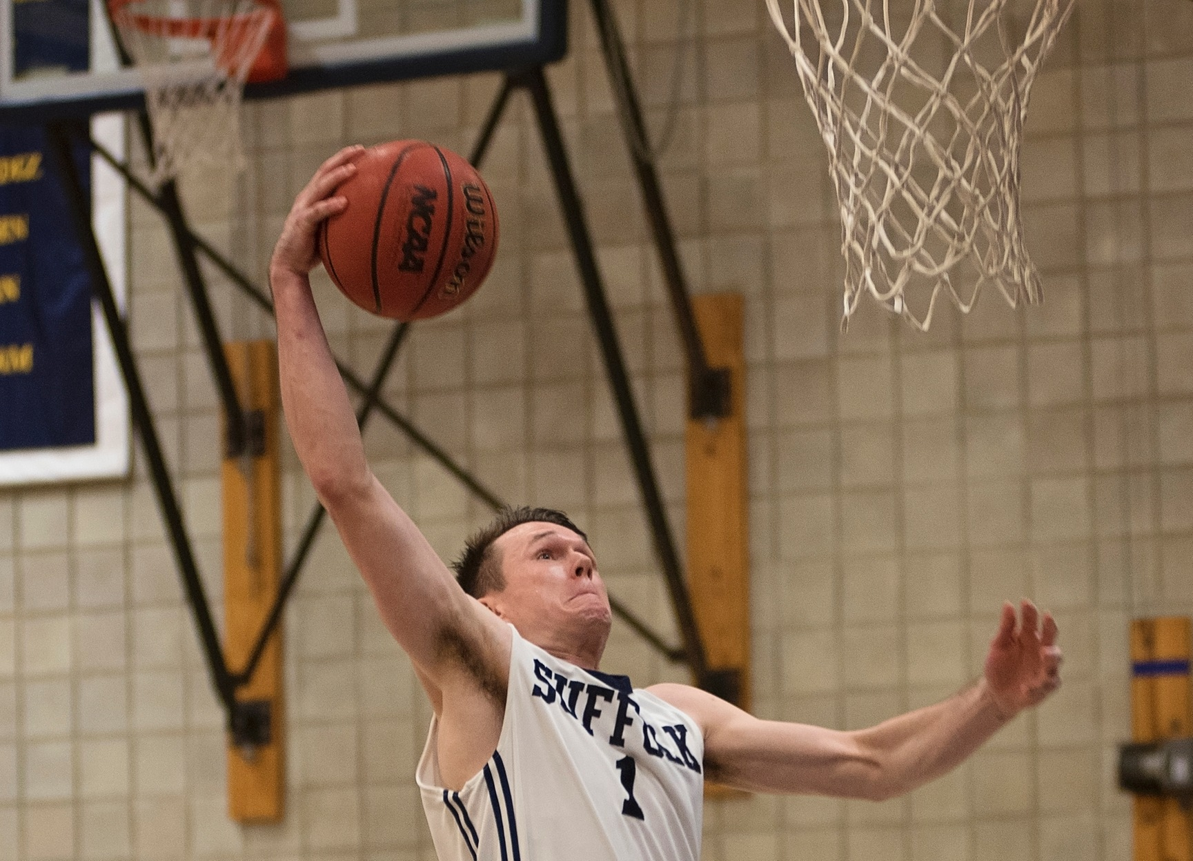 Men's Basketball Shoots Past Rivier, 79-45