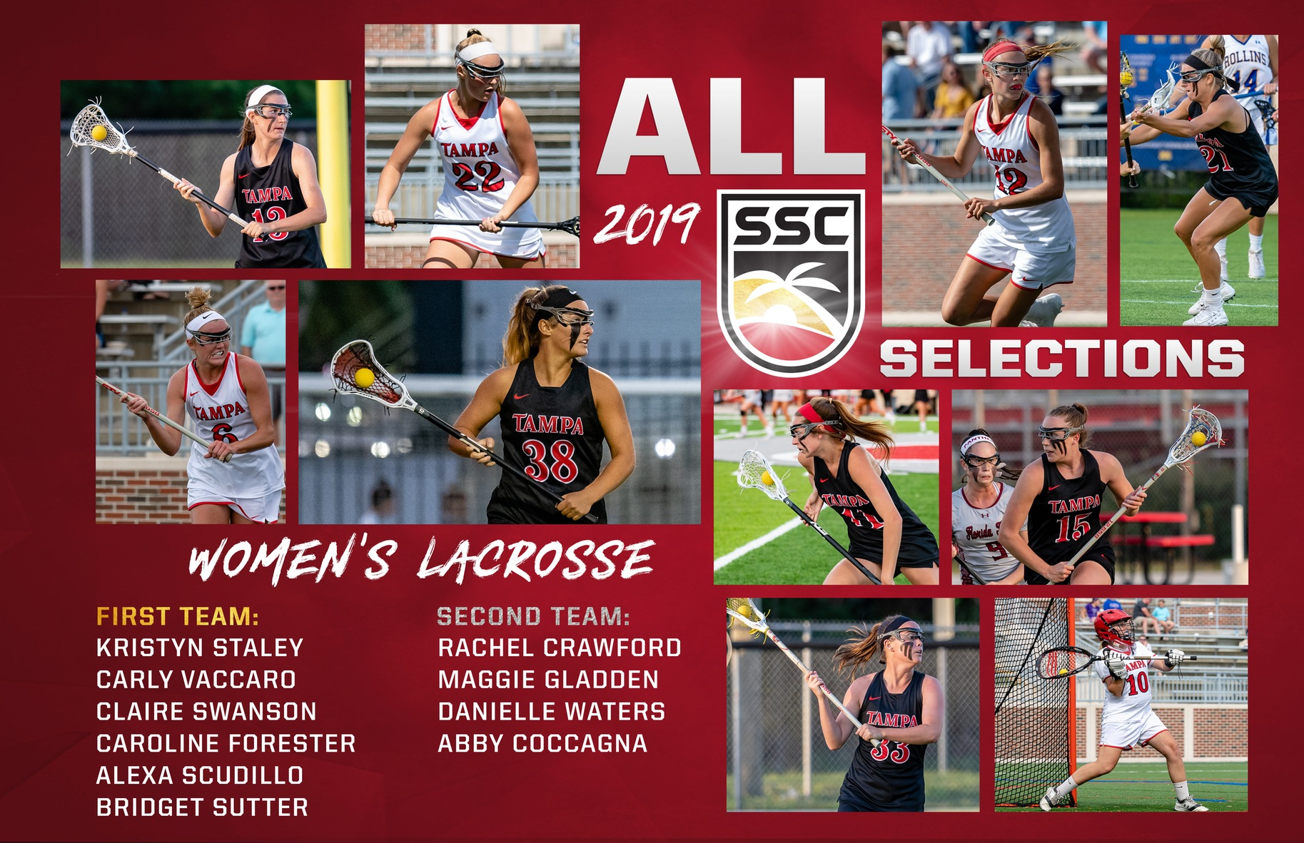 2019 ALL-SSC Selections, Swanson and Gallagher Earn Player and Coach of the Year