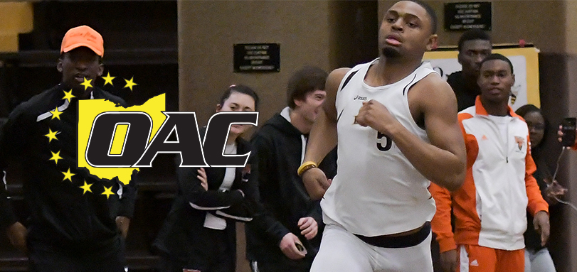 Leverette Earns First Career OAC Indoor Track Athlete of the Week Honor