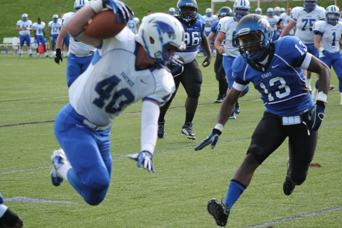 Hartwick Soars Past Football