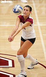 Bronco Volleyball Battles Gaels Friday