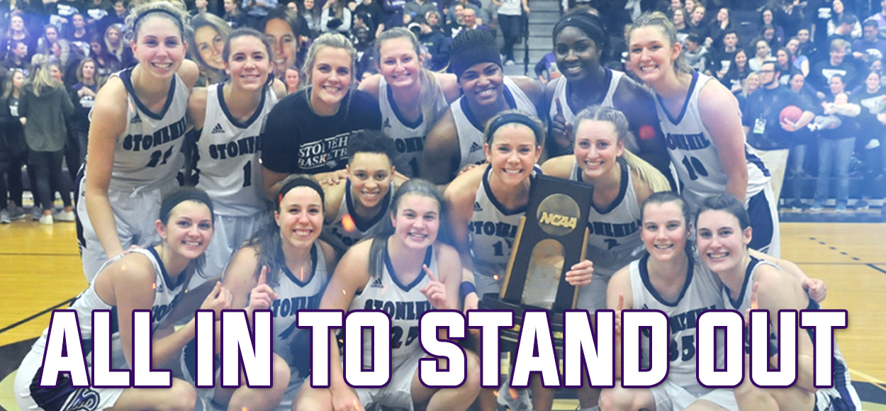 Embrace The Championship: Top-Seeded Stonehill Defeats USciences to Win NCAA East Regional Title