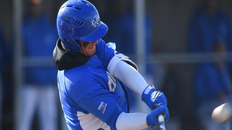 Baseball Falls to Mount St. Mary's in Extra Innings Sunday