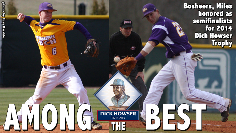 Bosheers, Miles names semifinalists for 2014 Dick Howser Trophy