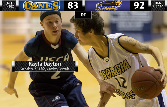 Lady 'Canes Falter in Overtime