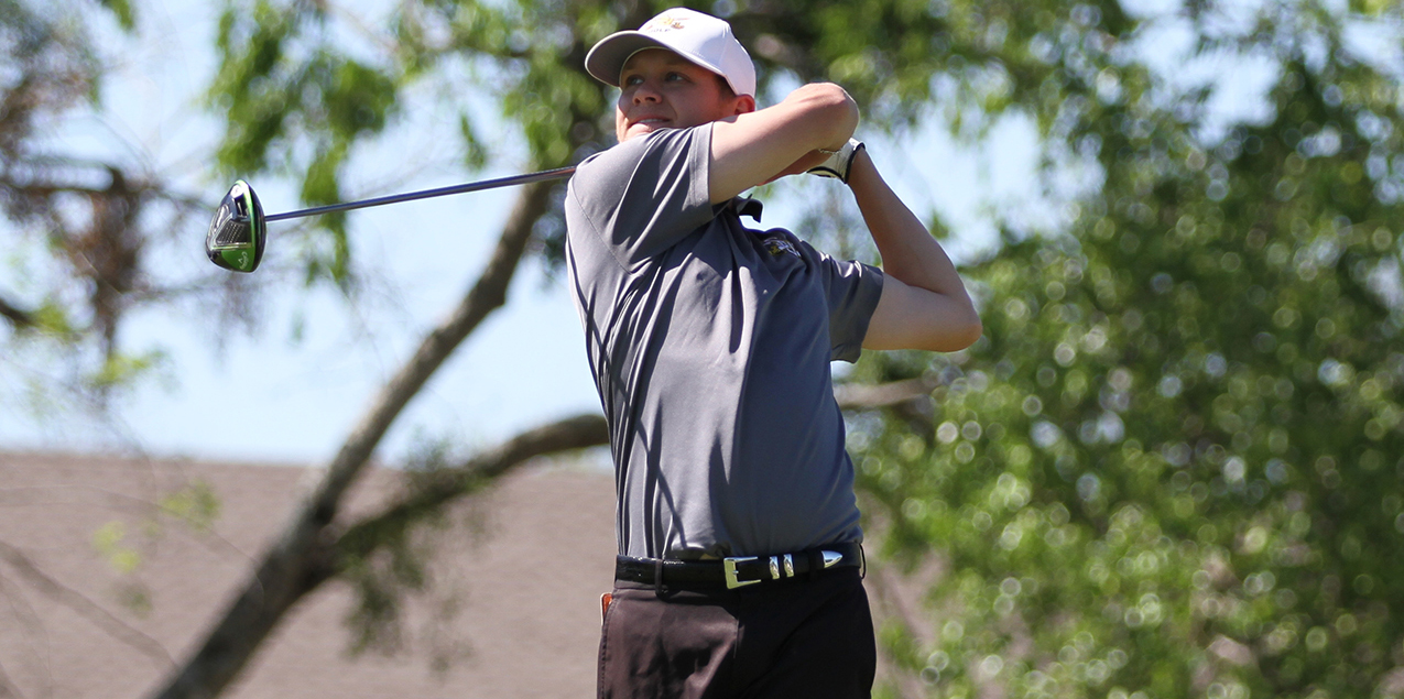 Sutherland Stith, Southwestern University, Men's Golfer of the Week (Week 2)