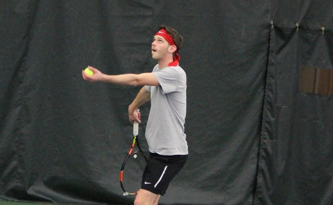 Men's Tennis Goes Two For Three On Week