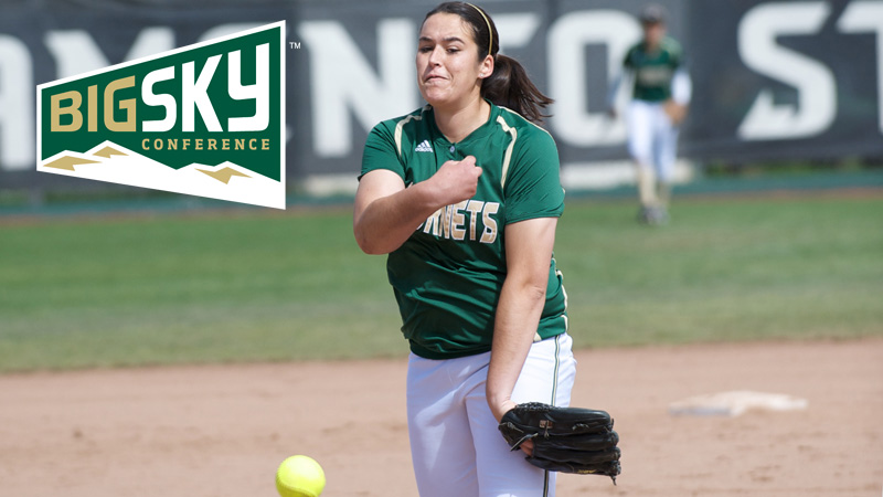 BROOKS RECEIVES BIG SKY CONFERENCE'S FIRST-EVER PITCHER OF THE WEEK AWARD