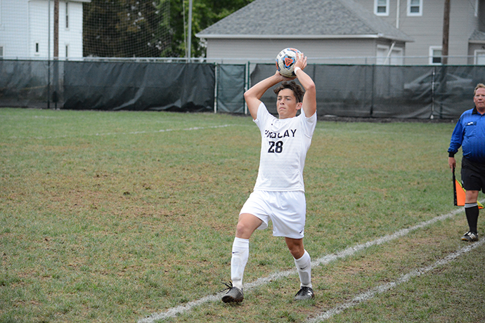 Men's Soccer Falls to Eagles
