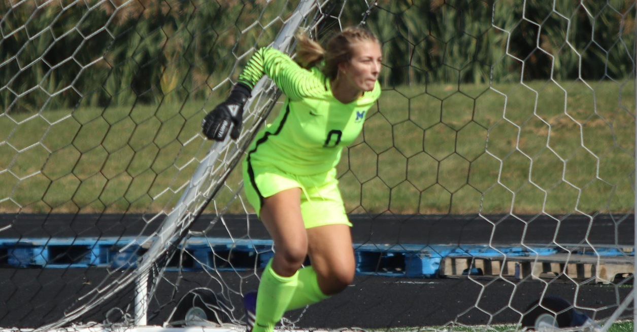 Anheuser makes 14 saves in loss at Adrian