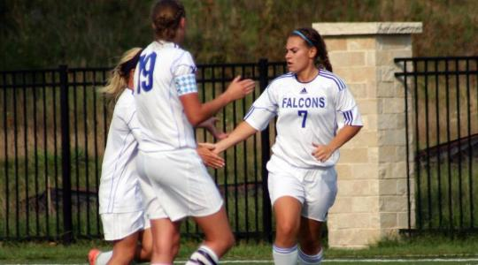 Falcon women shut out Concordia Chicago soccer