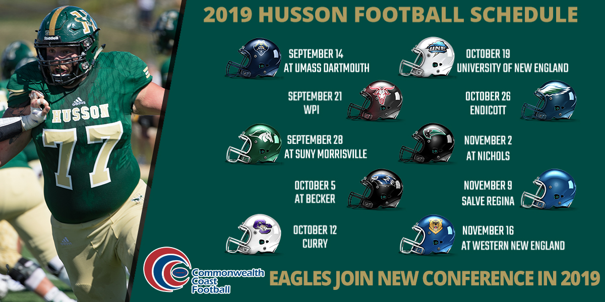 Husson Football Releases 2019 Schedule