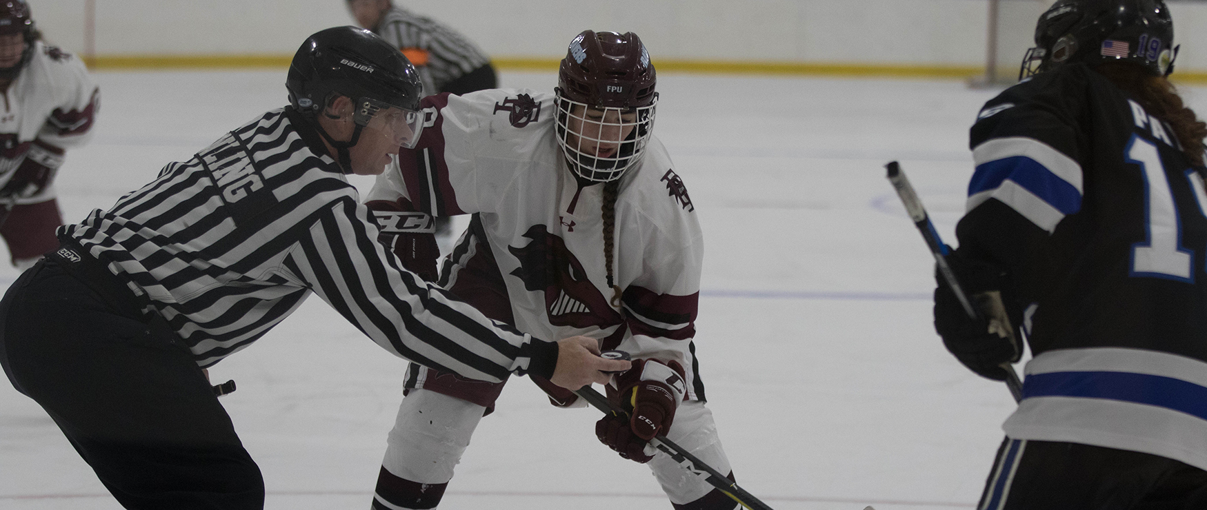 Strong Defensive Effort Leads Women's Ice Hockey over Morrisville State, 2-0