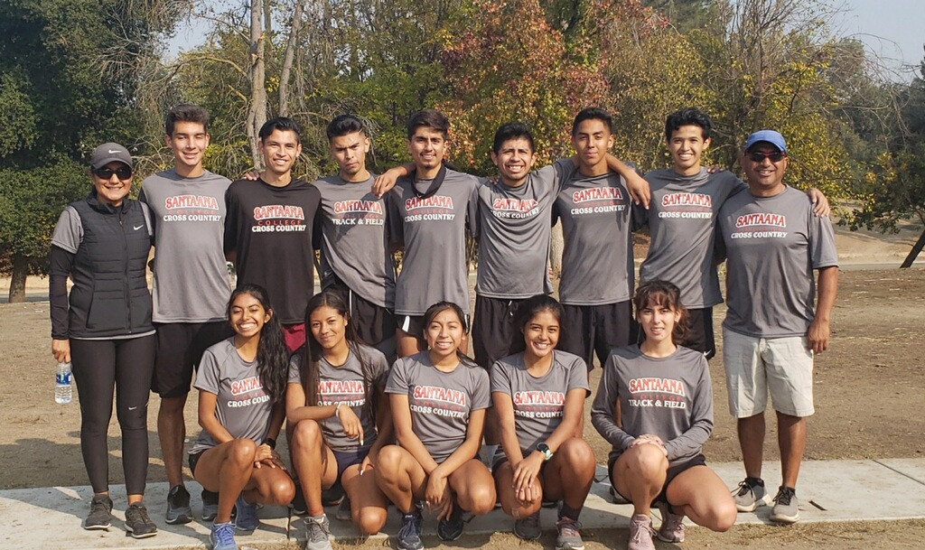 Santa Ana Men Place 9th, Women Take 19th at CCCAA State Championships