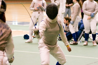 Women's fencing captures Northeast Fencing Conference title