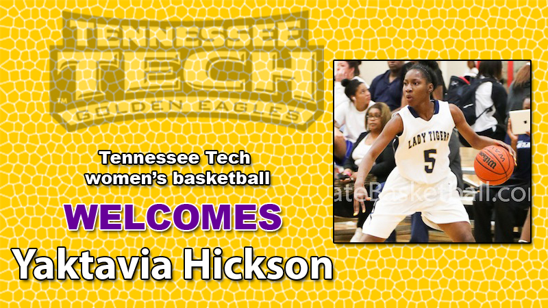 Women's basketball adds guard Yaktavia Hickson to Class of 2014